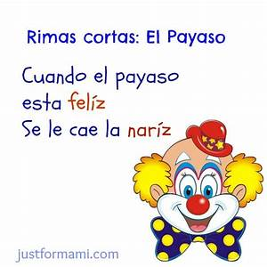 rima del payaso que se le cae la nariz Archives Just for Mami