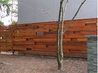 horizontal wood fence Horizontal Fence Panels for Privacy and Protection - HomeStyleDiary.com