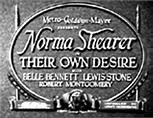 Movie Title Screens - 1929