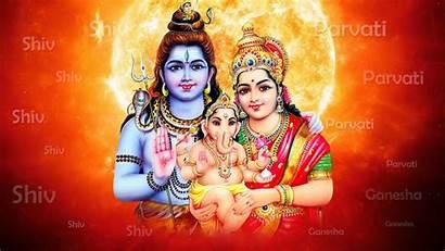 Shiva Shiv Lord Parivar 3d Wallpapers Hindu