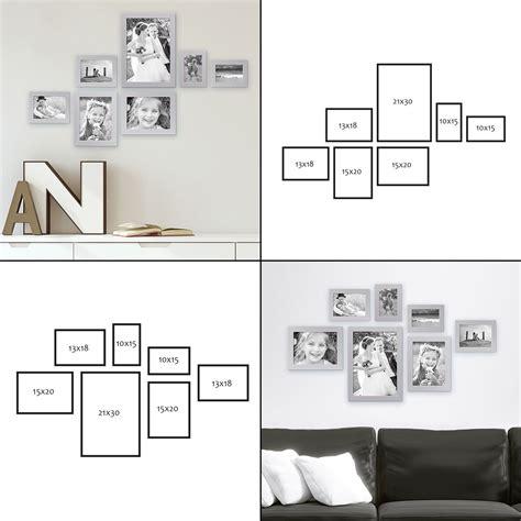 Wandgestaltung Mit Bilderrahmen by 7er Bilderrahmen Set Moderne Wandgestaltung Bilderw 228 Nde