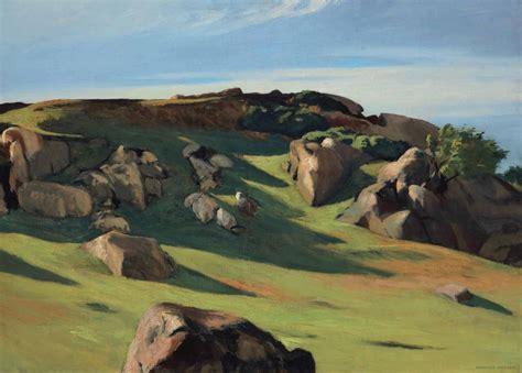 edward hopper landscape paintings   full view  fondation beyeler artwire press release