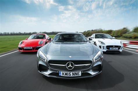 Mercedes-amg Gt S Vs Porsche 911 Gts And Jaguar F-type R