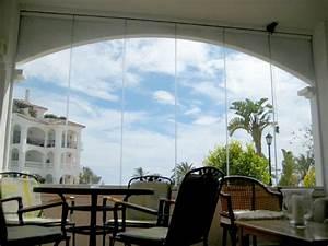 Rideau Pour Balcon : rideau de verre escamotable pour terrasse et balcon ~ Premium-room.com Idées de Décoration
