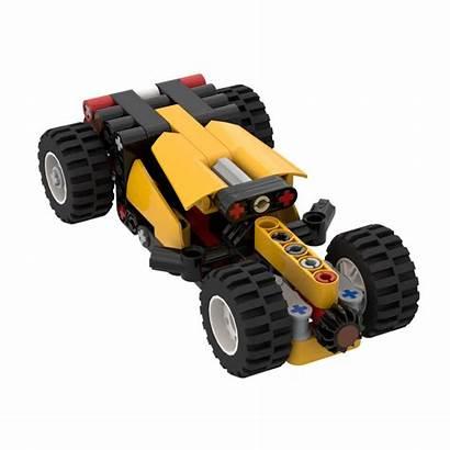 Rat Rod Moc Lego Rebrickable Build