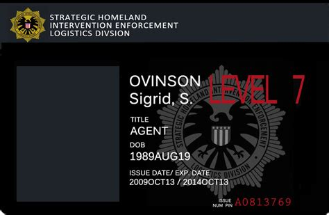 shield agent badge  alebireo  deviantart