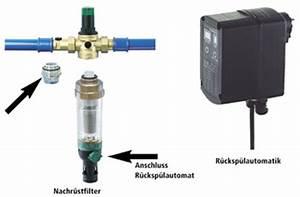 Wasserfilter Reinigen Hausanschluss : wasserfilter r cksp lbar automatisch eckventil waschmaschine ~ Buech-reservation.com Haus und Dekorationen