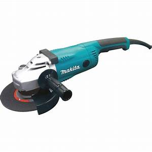 Makita 15 Amp 7 in Corded Angle Grinder with Grinding