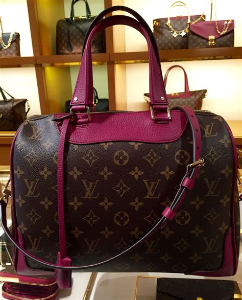 louis vuitton retiro  monogram  aurore love  bag
