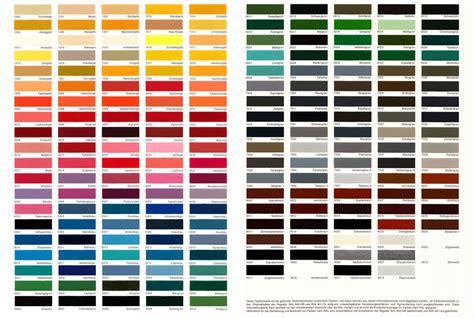 Fassadenfarbe Farbpalette  Haus Deko Ideen