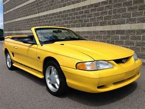 Sell used 1994 Ford Mustang GT Convertible 2-Door 5.0L in Worcester, Massachusetts, United ...