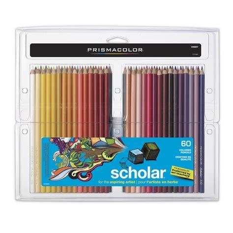 prismacolor scholar colored pencils 60 prismacolor scholar colored pencils set of 60