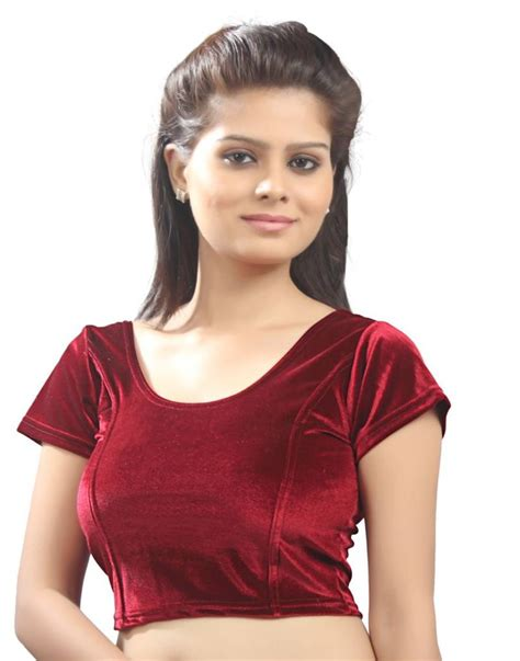 Arumi Marun Size S buy maroon velvet stretchable blouse size xl