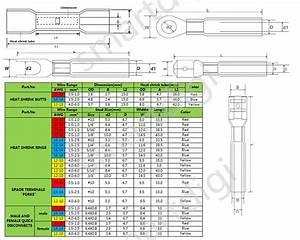 Female Spade Connector Size Chart 480pcs Heat Shrink Wire Connectors Assortment Crimp
