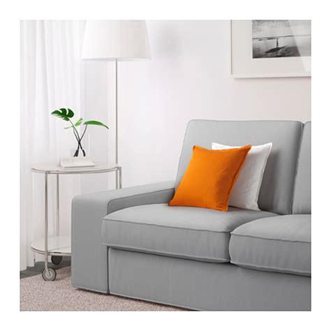 kivik two seat sofa ramna light grey ikea
