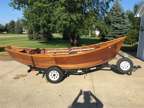 Drift Boat With Motor For Sale by Wooden Drift Boat For Sale Michigan Sportsman