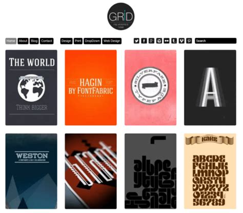 Free Themes With Infinite Scroll 15 Picked Grid Based Themes For 2018 Free