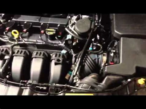 ford focus  weird noise click click whir fixed tsb