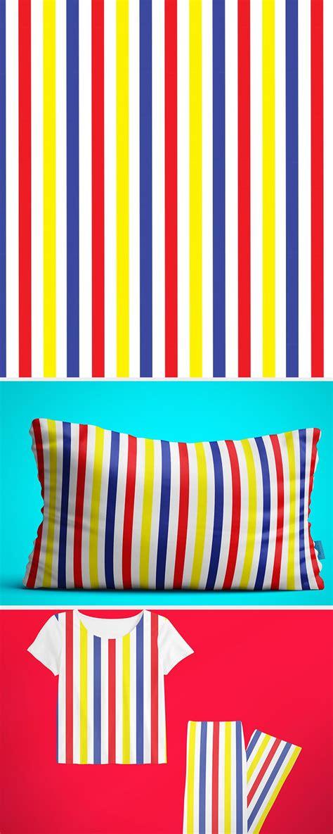 colorful stripes pattern   design  bedroom design