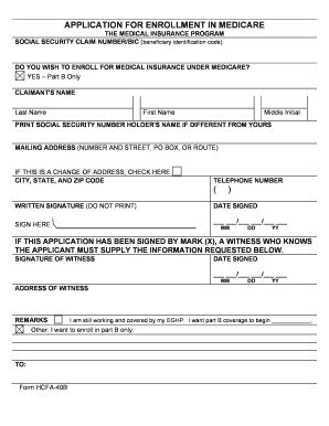 medicare part a form printable medicare application form ten exciting parts of
