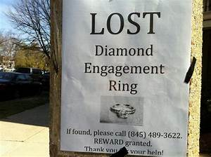 your engagement ring the mba bride With lost wedding ring