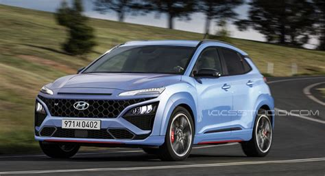 We call it the true hot suv; We'd Love The New Hyundai Kona N To Look Like This   Carscoops