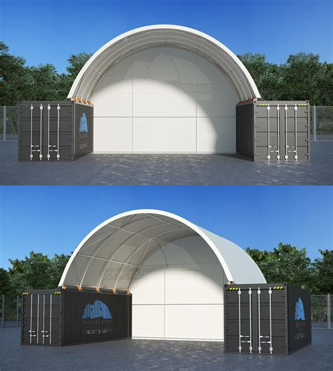 26 x 20ft Container Dome (8 X 6M) - Quality Domes Direct