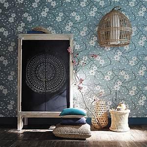Papier Peint Japonisant : tendance d co un papier peint japonisant ~ Premium-room.com Idées de Décoration