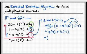 Modulo Inverse Berechnen : multiplicative inverses mod n youtube ~ Themetempest.com Abrechnung