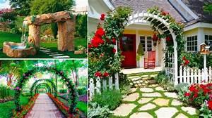 Cloturer Son Jardin Pas Cher : 23 id es sublimes d 39 arches pour d corer son jardin ~ Melissatoandfro.com Idées de Décoration