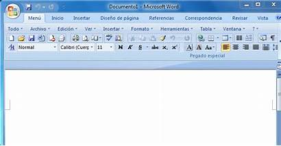 Word Microsoft Partes Wotd Ventana 2007 Spanish
