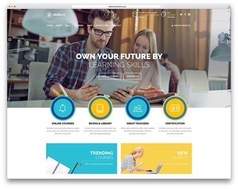 top ten wordpress themes  education websites