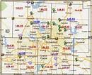 Zip code map Dallas - Dallas Texas zip code map (Texas - USA)