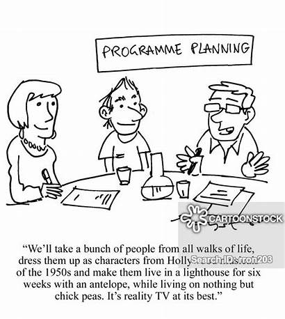 Tv Programme Reality Planning Cartoon Cartoons Funny