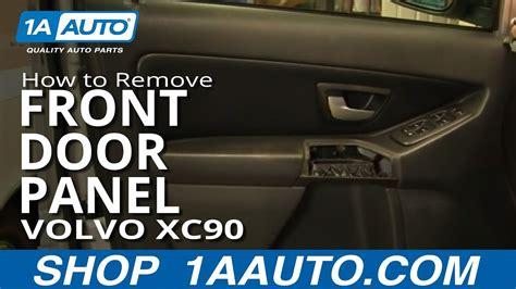 install replace remove front door panel volvo xc