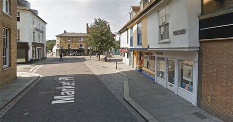 Woman Racially Abuses Man In Hertford Town Centre