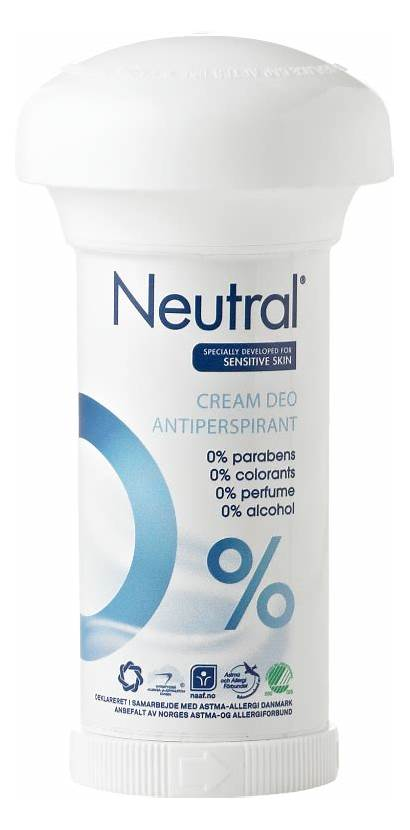 Neutral Cream Creme Antiperspirant Deodorant Deo Ml