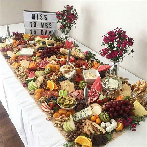 canape stark table size fruit cheese buffet appetizers cheese