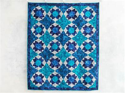 Quilt Kit Boundless Purple Craftsy Grotto Patterns
