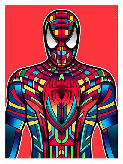 Superhero Spider Van Spiderman Superheroes Orton Hero