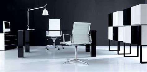 bureaux direction bureau direction verre une symphonie en noir et blanc