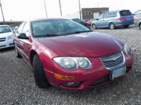 Chrysler 300m Problems by 2001 Chrysler 300m Problems Manuals And Repair