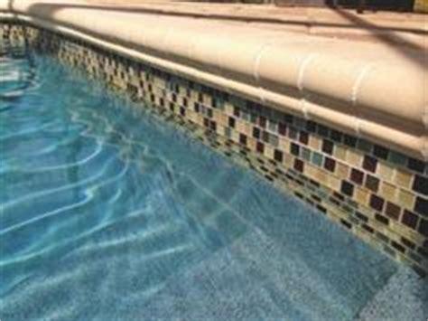 Best Pool Waterline Tile by Pool Tile Ideas On Pool Tiles Glass Pool And