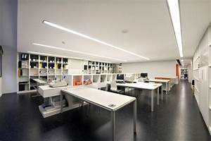 Apartments: Awesome Office Workspace Design With Large