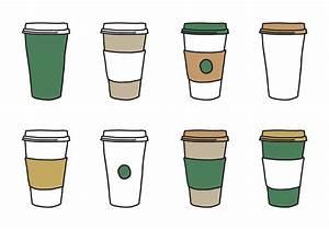 Coffee Sleeve Cup Vectors - Download Free Vector Art ...