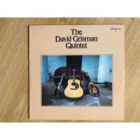 David Grisman Quintet By David Grisman, Lp With Musikdany