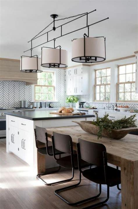 cuisine moderne ilot la chaise de cuisine moderne en 62 photos inspirantes