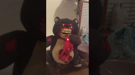 Spirit Halloween Animatronics Youtube by Spirit Halloween Heart Bear Animatronic Youtube