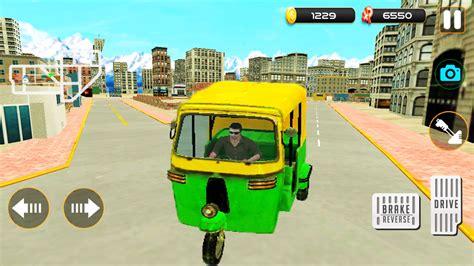game wala tuk apk rickshaw passenger driving pick gadi