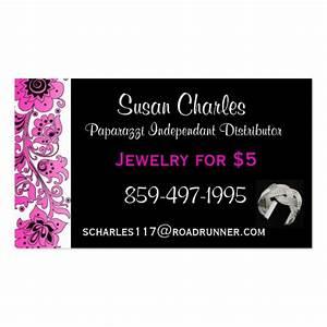 Paparazzi jewelry business cards zazzle for Jewelry business card
